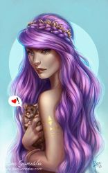 Lovely Rat. Time lapse Video available. by Bea-Gonzalez