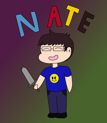 Chibi Nate is ready by zombienateisback