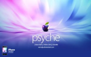 Psyche Apple Wallpaper by EAMejia