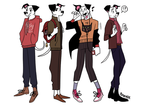 Lucas Character Concepts by reimena