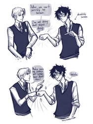 in which Harry and Draco become bros by viria13