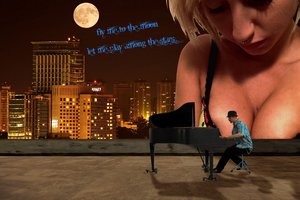 Jazz V (Rooftop Serenade) by LittleBee8705