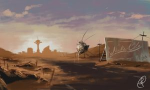 Return to New Vegas by Fernand0FC