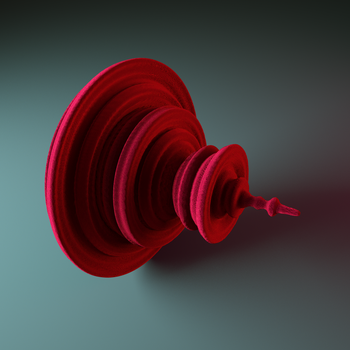 Red velvet quaternion by Fractalin