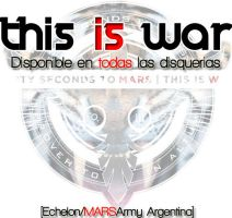 This is War 30 Seconds to Mars by sobeautifulmusic