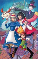 Howl's Moving Castle (Alternate) by ChrissieZullo