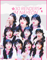 [ SHARE/RENDER] : NAYEON TWICE by suceobaby