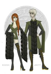 The Hunger Games - District 6 Tributes by Windnstorm