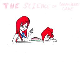 The Science of Strawberry Cake by IsoChi