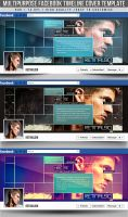 PSD Multipurpose Facebook Timeline Cover by retinathemes