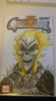 Ghost Rider Blank Cover by DerFanboy