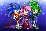 Modern Royal Triplets by SonicFF
