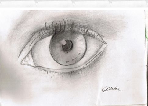 Eye sketch by Georgia-Lou-Erin