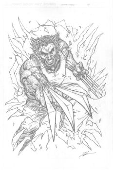 Wolverine Weekend - Pencils by i3i11theWi11