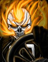 All New Ghost Rider by GabbyGerbs