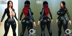 GC Catsuit for G3F by guhzcoituz