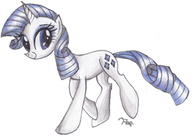 The Fabulous Rarity by Floppaw