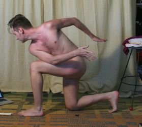 Male Nude Gesture 2 by TheMaleNudeStock