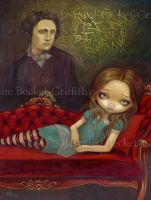Alice and Lewis by jasminetoad