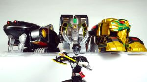 Mighty Morphin Power Rangers - Black Zord Power! by Infinitevirtue