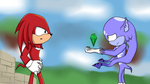 Gribridine and Knuckles - Friendly Help by NinaHunter