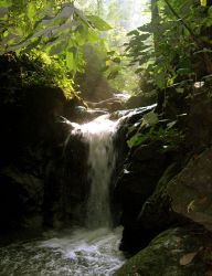 Waterfall by madelynF
