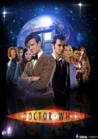 Poster Doctor Who by KCV80