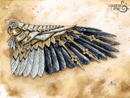 Raven Wing: A Study in Clockwork by bcduncan