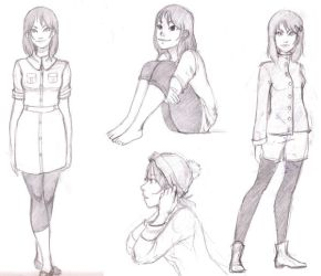 Midori outfit exploration by silentillusion