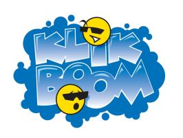 Comic Book Logo Klik Boom by ljamal