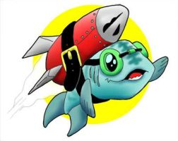 RocketFish by WombatOne