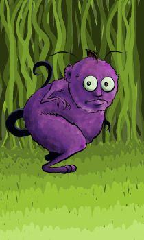 Purple Monster by carriehowarth