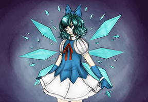 Ice Princess, Cirno by About12Kittens