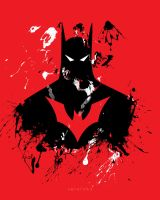 Batman Beyond [Free Wallpaper] by xavierlokollo