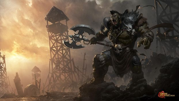 Orc Overlord by 88grzes
