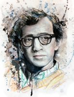 Woody Allen. by DeniseEsposito