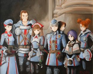 Gallian Soldiers of the Second Great War by DNLINK