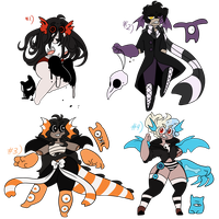 {DTA} HALLOWEEN PARASITICK BATCH !! by CANDY-BEE