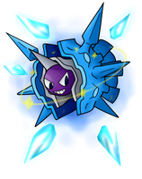 Shiny Cloyster Used Icicle Spear by SnowmanEX711