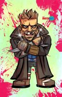 Captain Boomerang from Suicide Squad by DustinEvans