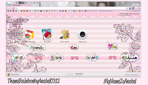 Theme Rainbow For Google Chrome by MyNameIsAnabel