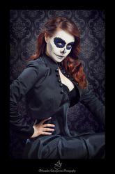 ...sugar skull 2... by canismaioris