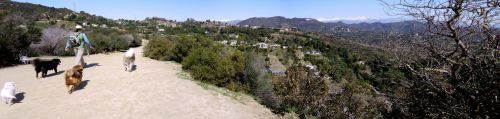 Runyon Canyon Hwd Sign by makepictures