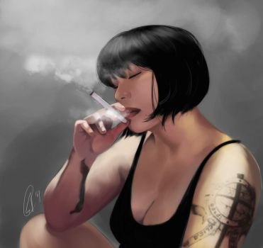 Smoke by yapi