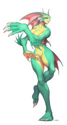 Aquaria from Darkstalkers by JayAxer