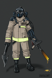 Fireman by ShackleArt