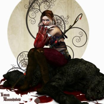 Dragon Age - Red Amell by KaanaMoonshadow