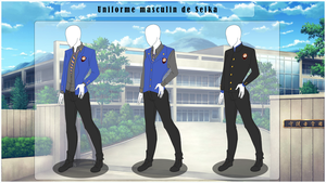 [SS] Uniforme Universitaire - Garcons by FraizySmoothie