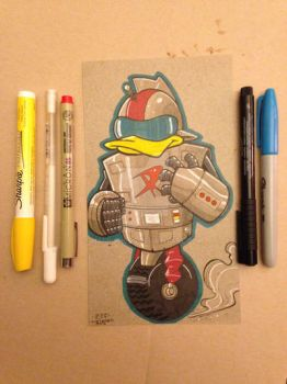 GizmoDuck Lil Dude by MARR-PHEOS
