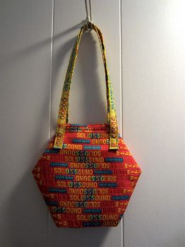 Wilco Hexagon Bag by Criddlebee